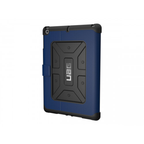 UAG Rugged Case for iPad 9.7 (2017 5th Gen &2018 6th Gen) - Case for tablet - rubber - cobalt - for Apple 9.7-inch iPad (5th generation, 6th generation)