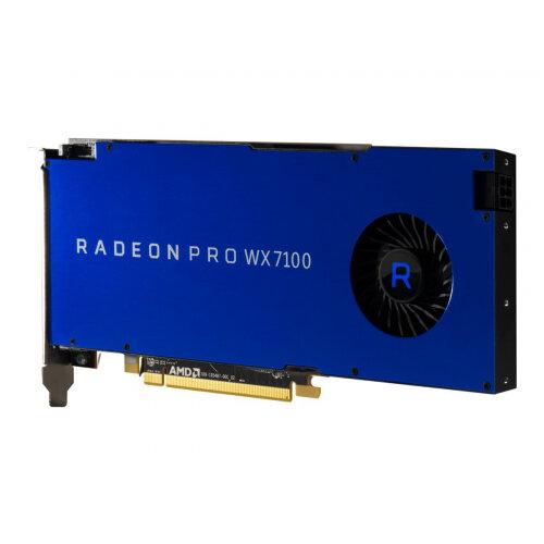 Radeon Pro WX7100 - Graphics card - Radeon Pro WX 7100 - 8 GB GDDR5 - PCIe 3.0 x16 - 4 x DisplayPort
