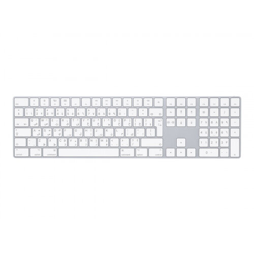 Apple Magic Keyboard with Numeric Keypad - Keyboard - Bluetooth - Switzerland