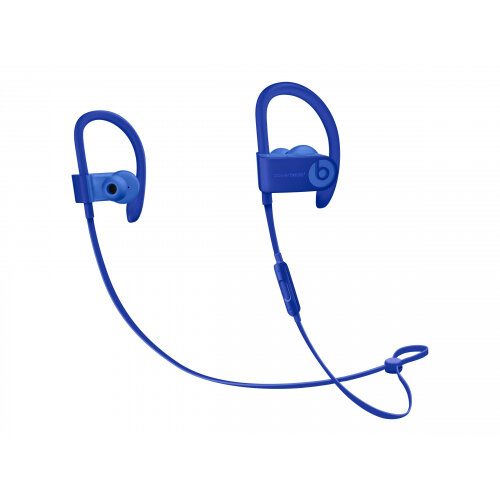 Beats Powerbeats3 Neighborhood Collection - Earphones with mic - in-ear - over-the-ear mount - Bluetooth - wireless - noise isolating - cobalt blue - for 10.5-inch iPad Pro; 12.9-inch iPad Pro; 9.7-inch iPad (5th generation, 6th generation); 9.7-inch iPad