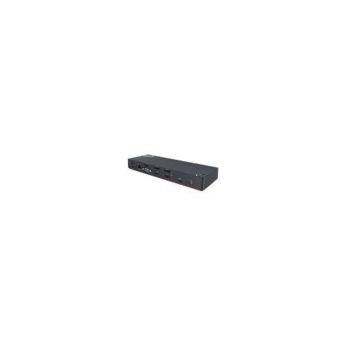 Lenovo ThinkPad Thunderbolt 3 Dock - Port replicator - Thunderbolt 3 - GigE - 135 Watt - for ThinkPad P51; P52; T470; T480; T570; X1 Carbon; X1 Tablet; X280; ThinkPad Yoga 370