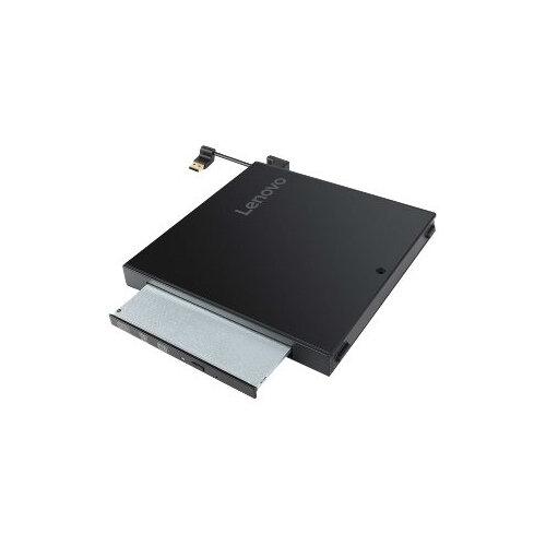Lenovo Tiny IV DVD Burner Kit - Disk drive - DVD-Writer - USB - external - for ThinkCentre M710q (tiny desktop); M910q (tiny desktop); M910x; ThinkStation P320