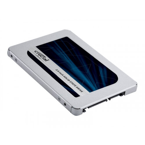"""Crucial MX500 - Solid state drive - encrypted - 500 GB - internal - 2.5"""" - SATA 6Gb/s - 256-bit AES - TCG Opal Encryption 2.0"""