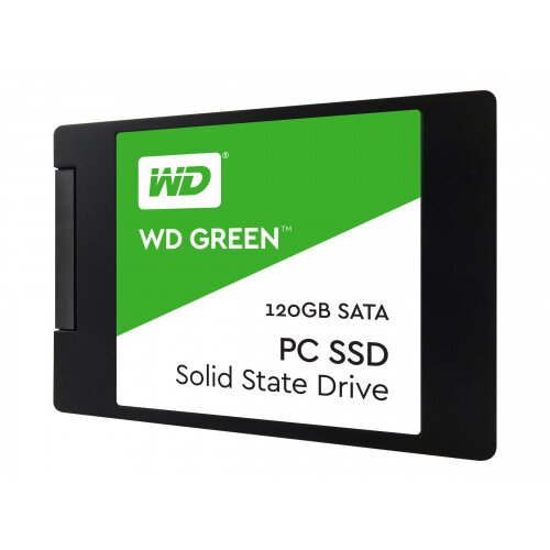"WD Green SSD WDS120G2G0A - Solid state drive - 120 GB - internal - 2.5"" - SATA 6Gb/s"