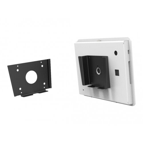 Compulocks Wall Mount Bracket - Cable Management - Wall mount for enclosure - high-grade aluminium - black - mounting interface: 100 x 100 mm