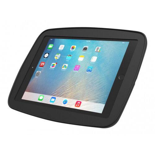 "Compulocks HyperSpace - iPad 9.7"" Wall Mount Enclosure - All Black - Enclosure for Apple iPad Air 2 / iPad Pro - high-grade aluminium - black - screen size: 9.7"" - mounting interface: 100 x 100 mm - for Apple 9.7-inch iPad Pro; iPad Air 2"