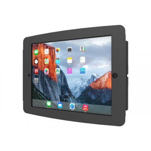 "Compulocks Space - iPad 9.7"" Wall Mount Enclosure - Black - Wall mount for tablet - lockable - metal - black - for Apple 9.7-inch iPad Pro; iPad; iPad 2; iPad Air; iPad Air 2; iPad with Retina display"