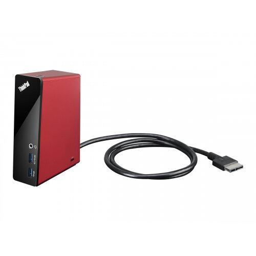 Lenovo ThinkPad OneLink Dock - Port replicator - for ThinkPad Edge E431 6277; E531 6885; ThinkPad S431 20AX, 20BA