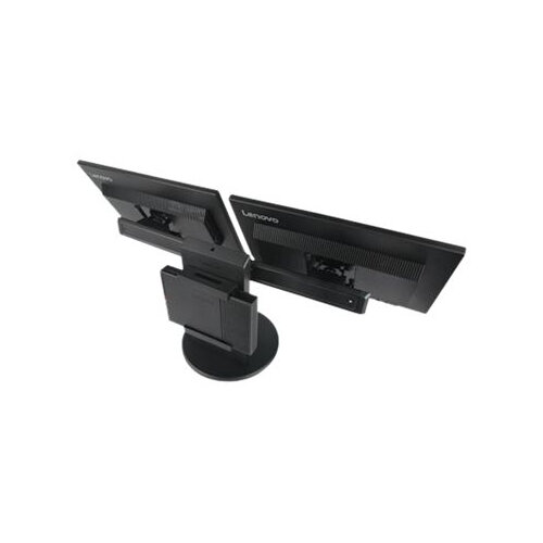 """Lenovo Tiny In One - Stand for 2 monitors / mini PC - screen size: 17""""-23"""" - for ThinkCentre M600; M625; M700; M710; M715; M900; M910; ThinkStation P320"""