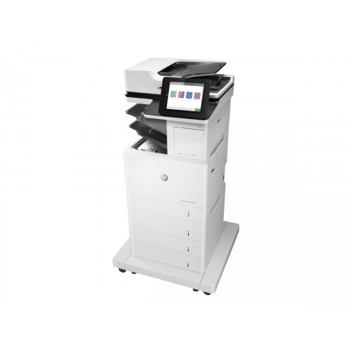 HP LaserJet Enterprise MFP M631z - Multifunction printer - B/W - laser - 216 x 863 mm (original) - A4/Legal (media) - up to 52 ppm (copying) - up to 52 ppm (printing) - 2300 sheets - 33.6 Kbps - USB 2.0, Gigabit LAN, Bluetooth, Wi-Fi(n), USB 2.0 host