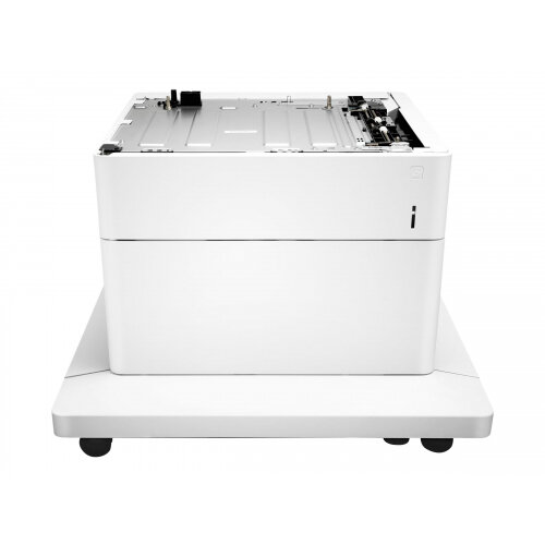 HP Paper Feeder and Stand - Printer base with media feeder - 550 sheets in 1 tray(s) - for Color LaserJet Enterprise M652, M653; LaserJet Enterprise Flow MFP M681, MFP M682