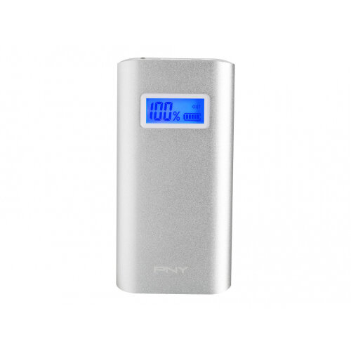 PNY PowerPack AD5200 - Power bank - 5200 mAh - 2.4 A (USB) - on cable: Micro-USB