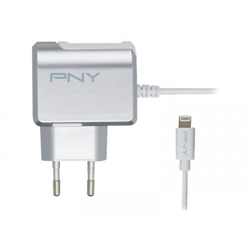 PNY Lightning Charger - Power adapter - 12 Watt - 2.4 A (Lightning) - European Union - for Apple iPad/iPhone/iPod (Lightning)