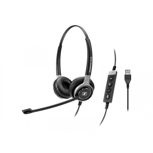 Sennheiser Century SC 660 USB CTRL - Headset - on-ear - wired