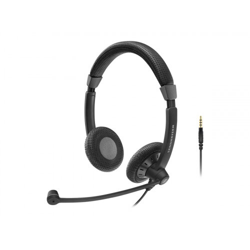 Sennheiser SC 75 - Culture Plus Mobile - headset - on-ear - wired - black