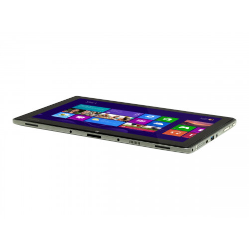 "Toshiba Portege Z10t-A-13Q - Ultrabook  Laptop - Core i5 4300Y / 1.6 GHz - Win 8.1 Pro 64-bit - 4 GB RAM - 128 GB SSD - 11.6"" IPS touchscreen 1920 x 1080 (Full HD) - HD Graphics 4200 - Wi-Fi - 4G - silver grey metallic - Up to 7 Hours Battery Life"