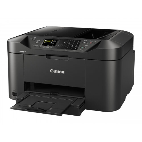 Canon MAXIFY MB2150 - Multifunction printer - colour - ink-jet - A4 (210 x 297 mm), Legal (216 x 356 mm) (original) - A4/Legal (media) - up to 18 ppm (copying) - up to 19 ipm (printing) - 250 sheets - 33.6 Kbps - USB 2.0, Wi-Fi(n), USB host