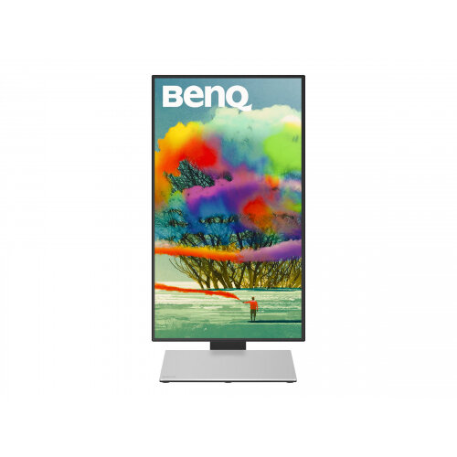 "BenQ Designer PD2710QC - LED Computer Monitor - 27"" - 2560 x 1440 1440p (Quad HD) - IPS - 350 cd/m² - 1000:1 - 5 ms - HDMI, DisplayPort, Mini DisplayPort, USB-C - speakers - black, silver"