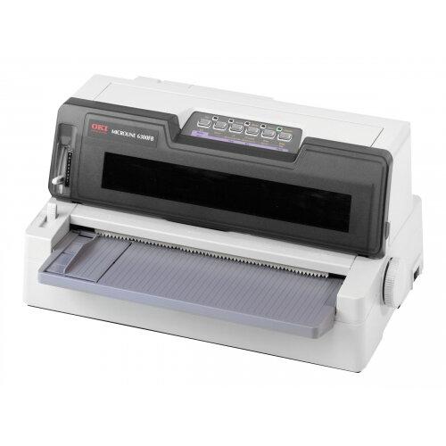 OKI Microline 6300 FB-SC - Printer - monochrome - dot-matrix - 304.8 mm (width) - 360 dpi - 24 pin - up to 450 char/sec - parallel, USB