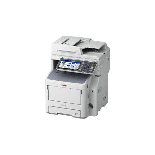 OKI MB770dnfax - Multifunction printer - B/W - LED - A4 (210 x 297 mm) (original) - A4 (media) - up to 52 ppm (copying) - up to 52 ppm (printing) - 630 sheets - 33.6 Kbps - USB 2.0, Gigabit LAN, USB host