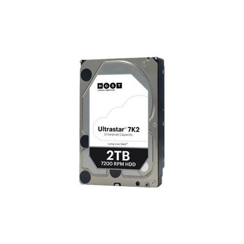 """HGST Ultrastar 7K2 HUS722T2TALA604 - Hard drive - 2 TB - internal - 3.5"""" - SATA 6Gb/s - 7200 rpm - buffer: 128 MB"""