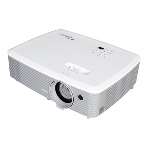 Optoma EH400 - DLP projector - portable - 3D - 4000 ANSI lumens - Full HD (1920 x 1080) - 16:9 - 1080p - with Optoma 5 Years Color Guarantee