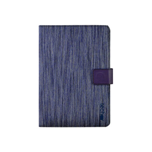 Tech air Universal - Flip cover for tablet - textured polyester - textured blue