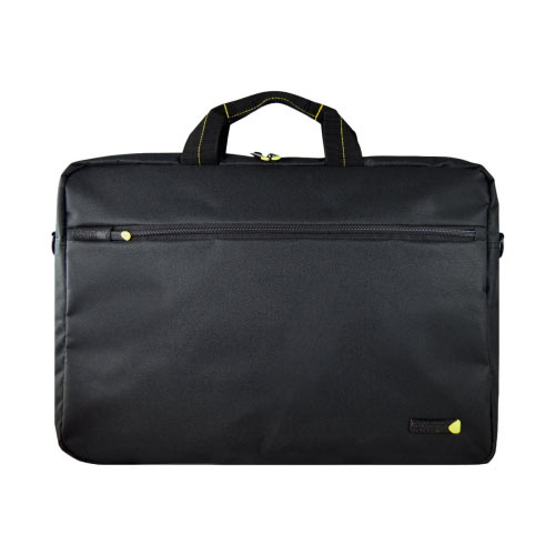 "techair - Notebook carrying shoulder bag -  Laptop Bag 17.3"" - black"