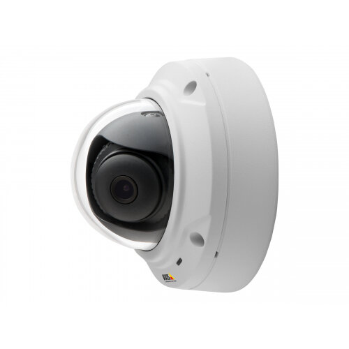 AXIS M3025-VE Network Camera - Network surveillance camera - dome - outdoor - vandal / weatherproof - colour (Day&ight) - 2 MP - 1920 x 1080 - M12 mount - fixed iris - fixed focal - LAN 10/100 - MPEG-4, MJPEG, H.264 - PoE Class 2