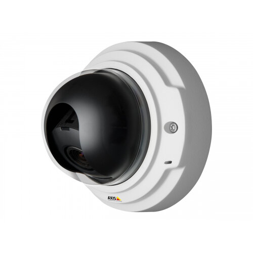 AXIS P3367-V Network Camera - Network surveillance camera - dome - vandal-proof - colour (Day&ight) - 5 MP - 2592 x 1944 - auto iris - vari-focal - audio - LAN 10/100 - MJPEG, H.264 - PoE