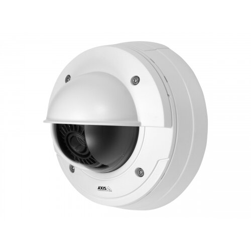 AXIS P3367-VE Network Camera - Network surveillance camera - dome - outdoor - vandal / weatherproof - colour (Day&ight) - 5 MP - 2592 x 1944 - auto iris - vari-focal - audio - LAN 10/100 - MJPEG, H.264 - PoE
