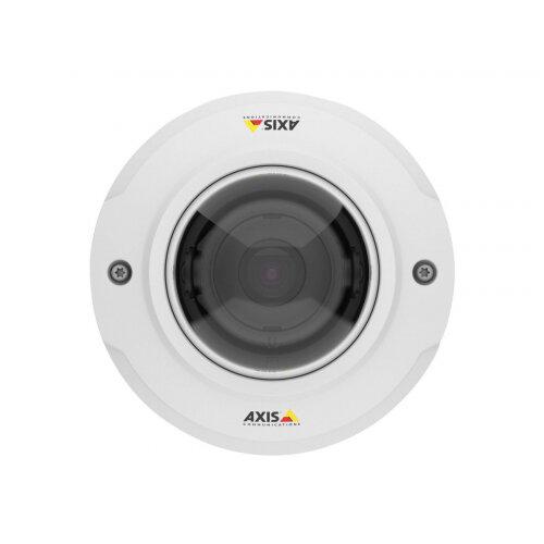AXIS M3045-V - Network surveillance camera - dome - dustproof / waterproof / vandal-proof - colour - 2 MP - 1920 x 1080 - 1080p - M12 mount - fixed iris - fixed focal - HDMI - LAN 10/100 - MPEG-4, MJPEG, H.264 - PoE