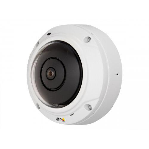 AXIS M3037-PVE - Network surveillance camera - dome - outdoor - vandal / weatherproof - colour (Day&ight) - 2592 x 1944 - M12 mount - fixed iris - audio - LAN 10/100 - MJPEG, H.264 - PoE Class 3