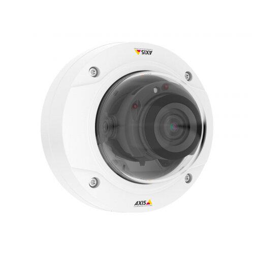AXIS P3228-LV Network Camera - Network surveillance camera - dome - vandal-proof - colour (Day&ight) - 3840 x 2160 - 4K - vari-focal - LAN 10/100 - MPEG-4, MJPEG, H.264 - PoE Plus