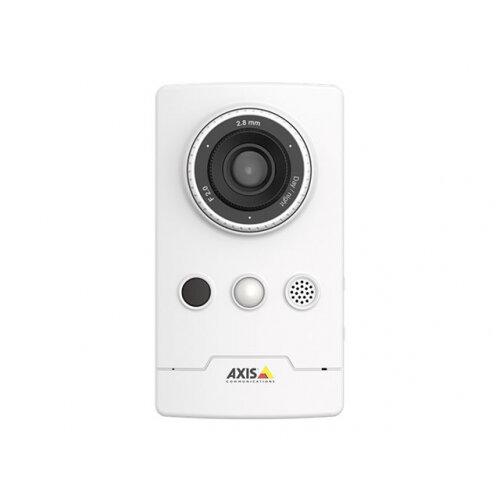 AXIS Companion Cube L - Network surveillance camera - colour (Day&ight) - 2 MP - 1920 x 1080 - 1080p - M12 mount - fixed iris - fixed focal - audio - LAN 10/100 - MPEG-4, MJPEG, H.264 - DC 4.75 - 5.25 V / PoE Plus