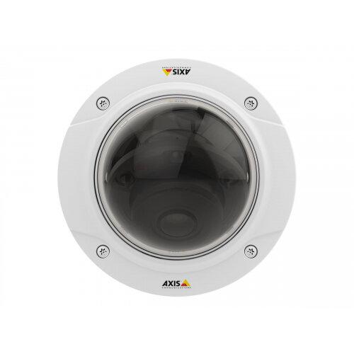 AXIS P3225-LV MKII Network Camera - Network surveillance camera - dome - dustproof / vandal-proof - colour (Day&ight) - 1920 x 1080 - 1080p - vari-focal - LAN 10/100 - MPEG-4, MJPEG, H.264 - PoE Plus