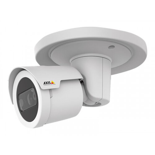 AXIS M2026-LE Mk II - Network surveillance camera - outdoor - weatherproof - colour (Day&ight) - 4 MP - 2688 x 1520 - M12 mount - fixed iris - fixed focal - LAN 10/100 - MPEG-4, MJPEG, H.264, H.265 - PoE Class 3
