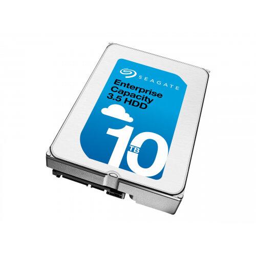 "Seagate Enterprise Capacity 3.5 HDD (Helium) ST10000NM0016 - Hard drive - 10 TB - internal - 3.5"" - SATA 6Gb/s - NL - 7200 rpm - buffer: 256 MB"