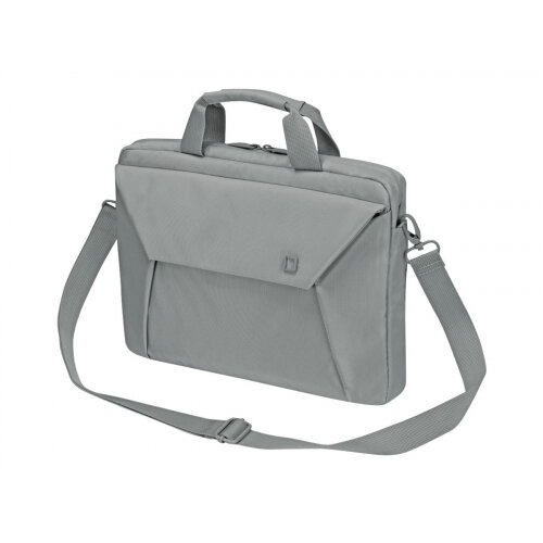 "Dicota Slim Case EDGE - Notebook carrying case - Laptop Bag - 13.3"" - grey"