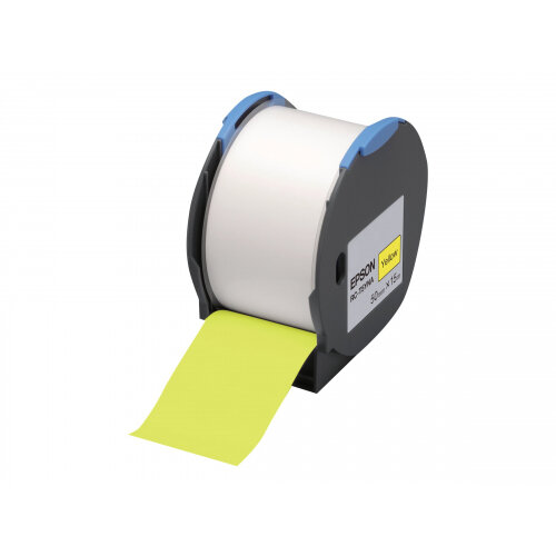Epson RC-T5YNA - Polyolefin - self-adhesive - yellow - Roll (5 cm x 15 m) 1 roll(s) plastic tape - for LabelWorks Pro100
