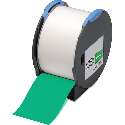 Epson RC-T5GNA - Polyolefin - self-adhesive - green - Roll (5 cm x 15 m) 1 roll(s) plastic tape - for LabelWorks Pro100