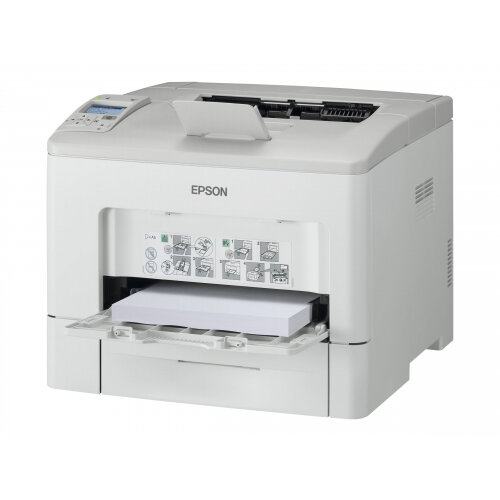 Epson WorkForce AL-M400DN - Printer - monochrome - Duplex - laser - A4/Legal - 1200 dpi - up to 45 ppm - capacity: 700 sheets - parallel, USB, Gigabit LAN