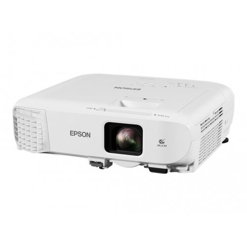 Epson EB-2142W - 3LCD Multimedia Projector - 4200 lumens (white) - 4200 lumens (colour) - WXGA (1280 x 800) - 16:10 - 720p - LAN