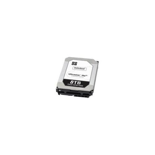 """HGST Ultrastar He10 HUH721008AL5200 - Hard drive - 8 TB - internal - 3.5"""" - SAS 12Gb/s - 7200 rpm - buffer: 256 MB"""