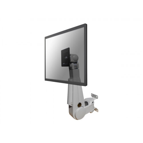 """NewStar TV/Monitor Wall Mount (Full Motion &gas spring height adjustable) for 10""""-30"""" Screen - Grey - Wall mount for LCD display - grey - screen size: 10""""-30"""""""