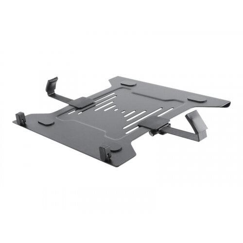 NewStar Laptop Holder (mounting via VESA 75x75 to 100x100mm) - Black - Mounting component (holder) for notebook - black