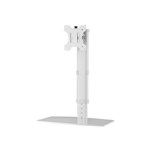 """NewStar Tilt/Turn/Rotate Desk Mount (clamp) for 10-30"""" Monitor Screen, Height Adjustable - White - Stand for LCD display - white - screen size: 10""""-30"""" - desktop stand"""