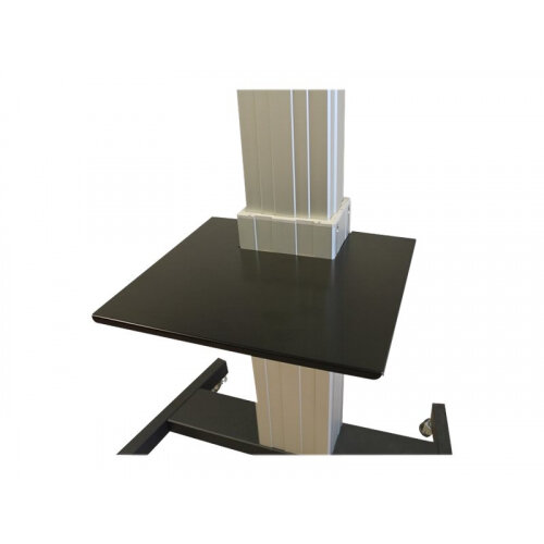 NewStar Laptop shelf for PLASMA-M2500 &PLASMA-W2500 series of motorized units - Mounting component (shelf) for AV System - black - cart mountable - for NewStar Motorized, PLASMA-W2500