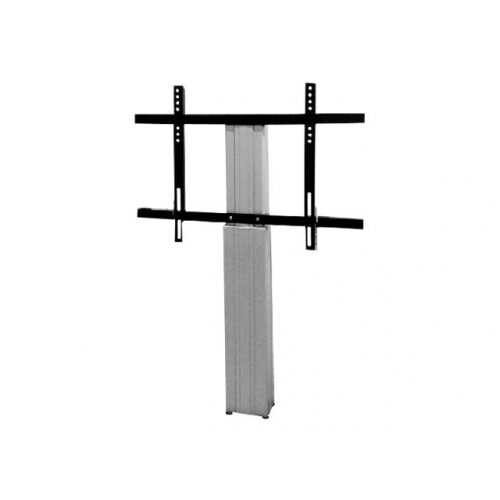 "NewStar Motorized (Height Adjustable) Wall Mount for 42-100"" Screen, Silver - Wall mount for LCD / plasma panel (motorised) - silver, RAL 9006 - screen size: 42""-100"""