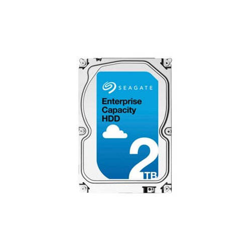 "Seagate Enterprise Capacity 3.5 HDD ST2000NM0008 - Hard drive - 2 TB - internal - 3.5"" - SATA 6Gb/s - 7200 rpm - buffer: 128 MB"